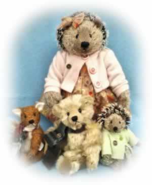 Sue Quinn Bears and Hedgehog Corner